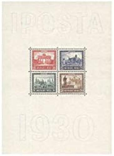 Goldhahn Deutsches Reich - Block 1 ungestempelt Briefmarken für Sammler