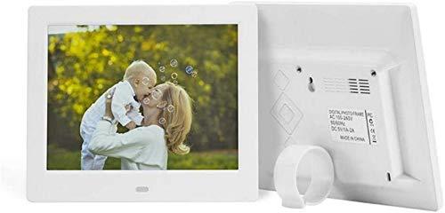 GOHHK Digitaler Fotorahmen 8 Zoll 800x600 HD IPS LCD und Bewegungssensor, Unterstützung MP3,720P / 1080P Video Player, Kalender, E-Book, Fernbedienung inklusive digitaler Bilderrahmen