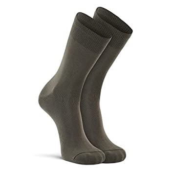 FoxRiver Wick Dry Auras Ultra-Lightweight Liner Crew Socks Olive Large