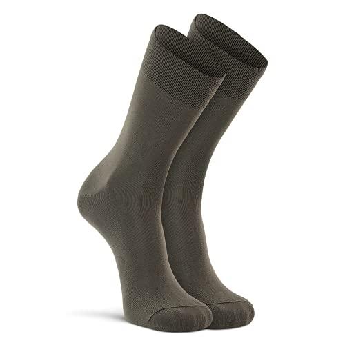Fox River Wick Dry Auras Ultra Light Liner Crew Socken, Olive, Medium