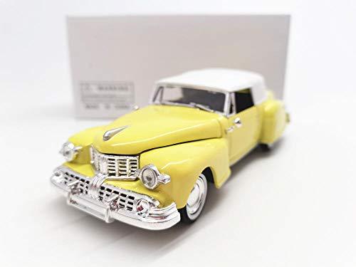 THKZH 1/32 1954 Gelbes Oldtimer-Legierungsmodelldiecast Autos,Oldtimer Modellautos,Automodelle Für Erwachsene,Sammlung Modellautos,