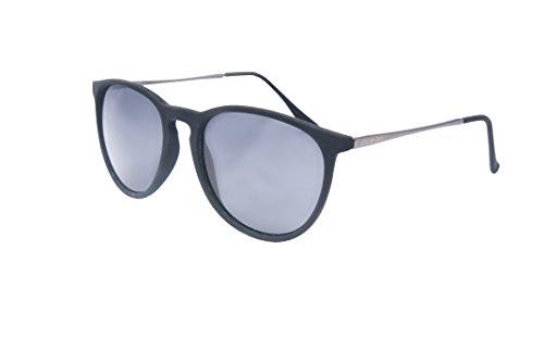 Ocean Sunglasses - Bari - lunettes de soleil en Métal - Monture : Argent/Marron - Verres : Fumée (60000.3)