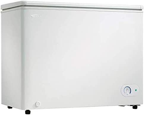 Danby DCF072A3WDB 6 7 2 Cu Ft Garage Ready Chest Freezer with Basket and Front Mount Thermostat product image