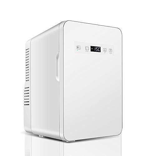 LIANGJIE Kleiner Kühlschrank, Minikühlschrank für Haushalt und Gefriertruhe, Minikühlschrank mit Eiskühlung