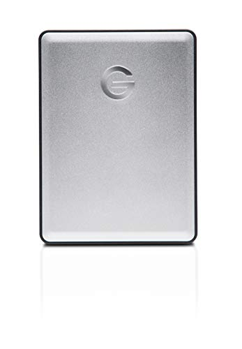 G-Technology 1TB G-DRIVE Mobile USB 3.0 Portable External Hard Drive, Silver - 0G06071-1