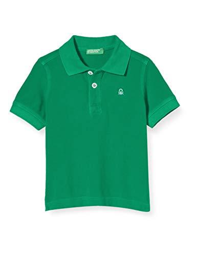 United Colors of Benetton Baby-Jungen Maglia Polo M/m Poloshirt, Grün (Bright Green 108), 86/92 (Herstellergröße: 2y)
