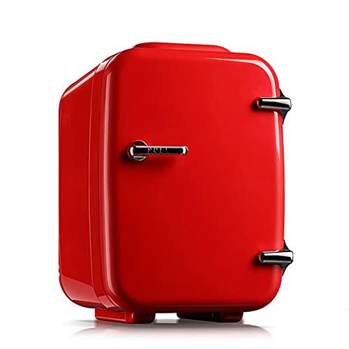 LIHUAN Refrigerador del Hogar del Coche 4L Mini Refrigerador Pequeño Incubadora del Congelador Pequeño