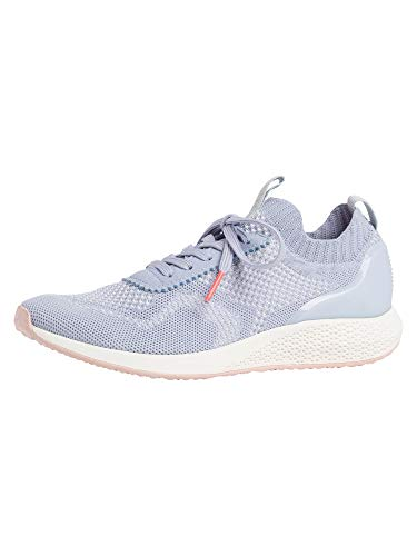 Tamaris Damen Low-Top Sneaker, Frauen Halbschuhe,lose Einlage,straßenschuhe,Freizeitschuhe,Sneaker,Wedge,Keilabsatz,Heel,Powder Blue,39 EU / 5.5 UK