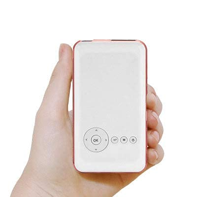 Smart Micro Projector Support 1080P Mini Portable Multimedia PROYECTOR Games Home Cinema Proyector, Resolución 1280x720DPI
