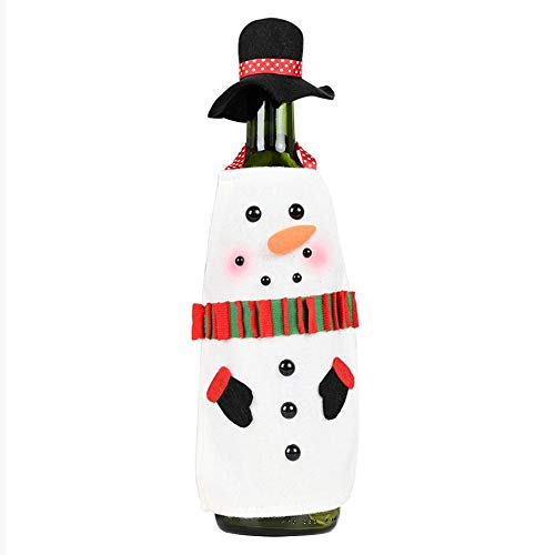 duhe189014 Weihnachten Weinflasche Cover, Weinflasche Taschen Für Weihnachtsschmuck Partydekorationen Weihnachten Sale2019 Gorgeous