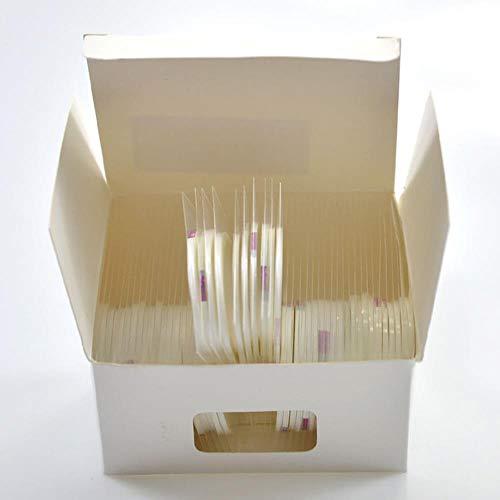 2mm 50 Rolls/Lot Or Argent Noir Blanc Nail Laser Paillettes Conseils Fil Striping Tape Line Bricolage Wrap Nail Art Sticker Ensemble, Blanc