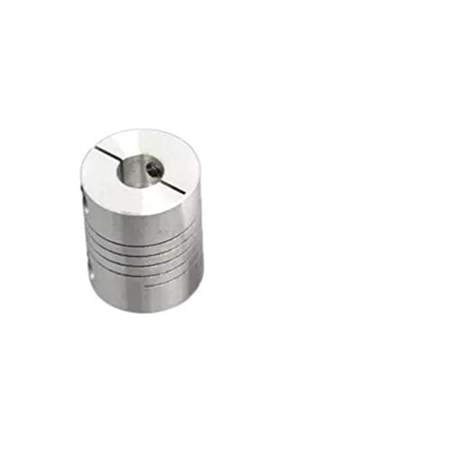 ZFX-WUJIN, 1pc 3D Printer Accessories Clamping Coupling 5x8/8x8/6.35x8/ Stepper Motor Encoder Winding Coupling D20L25 (Color : 1pc, Size : 6.35X6)
