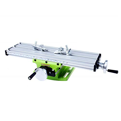 2-Axis Milling Working Table Machine Bench Drill Press X-Y Vise Fixture Worktable Mini Compound Working Table Multifunction