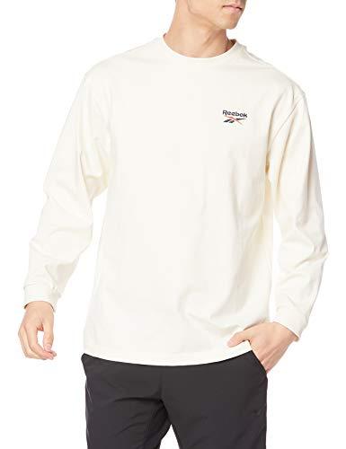 [リーボック] 長袖 クラシックス ニット ロング スリーブ Tシャツ 92580 メンズ クラシックホワイト(GP7146) 日本サイズM相当