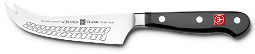 Wüsthof Käsemesser, Classic (3103), 14 cm Klinge, geschmiedet, rostfreier Edelstahl, sehr scharfes Messer für Hartkäse