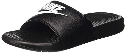 Nike Benassi Jdi, Herren Flip Flop, Schwarz (Weiß/Schwarz), 49.5 EU