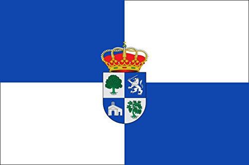 magFlags Bandera Large Algatocín, Málaga, España | Bandera Paisaje | 1.35m² | 90x150cm