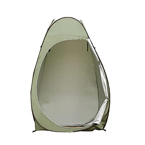 JQAM Tienda de campaña portátil con Ducha para Inodoro, Vestuario, Refugio de Camping para Pesca, Senderismo, Playa, Festival, Uso al Aire Libre, se Adapta a 1-2 Personas