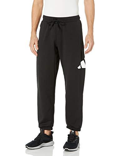 adidas,Mens,BIC Pants 3 Bar,Black,X-Large