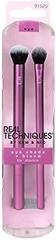 2-Piece Real Techniques Eye Shade & Blend Set Makeup Brush Kit