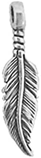 Best native american silver feather pendant Reviews