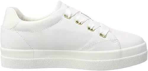 GANT Footwear Damen Aurora Sneaker, Weiß (Bright White G290), 42 EU
