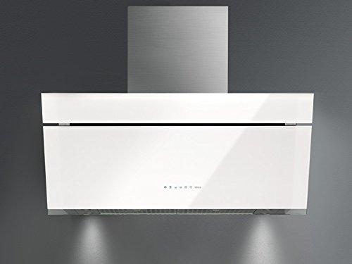 Falmec Design island kitchen hood BUTTERFLY-White-Island 90cm