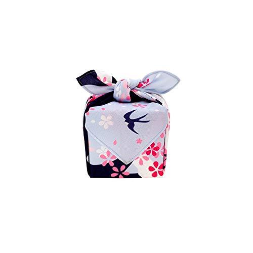 Groove de la pista Temporada Temporada Productos Japoneses Furoshiki Lunchbox Edge (Color : Autumn, Size : 70x70cm)