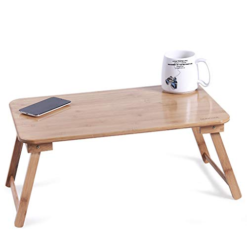 Table Pliante en Bois De Repas Portable Lit Pliante Bureau Bureau Lit Ménage Simple Petite Deux Tailles Disponibles Shcro (Size : 55×34×24cm)