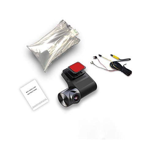 Cámara de Coche Dash Camera Cámara 24h Estacionamiento Monitoreo Video Recorder Hidden CAM Cámara Noche Visión Noche Cámara. (Color : V2 K, Talla : None)