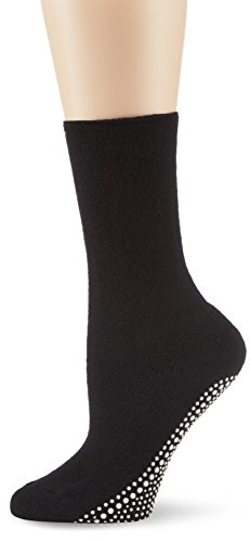 KUNERT Damen Strick Socken Homesocks Unisex Gr. 39/42 (Herstellergröße: 39/42) Schwarz (BLACK 0070)