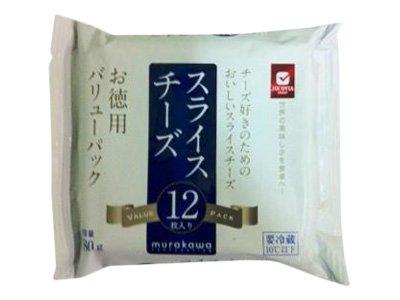 JUCOVIA [冷蔵] お徳用スライスチーズ 12枚入(180g)
