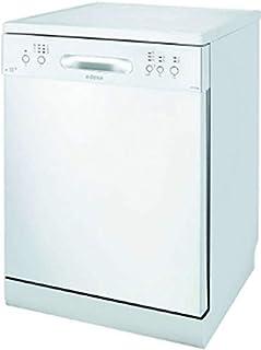 Edesa EDW-6020 WH lavavajilla Independiente 12 cubiertos A+ - Lavavajillas (Independiente, Tamaño completo (60 cm), Blanco, Blanco, Botones, LED)