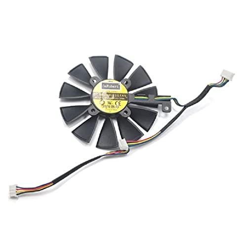 Carlote 87MM PLD09210S12M PLD09210S12HH Lüfter ersetzen für Strix GTX 1060 OC 1070 1080 GTX 1080Ti RX 480 Grafikkartenlüfter CPU-Lüfter Flüssigkühler Kühler Master Kleiner Kühler