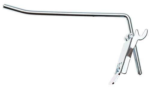 BGS 89904 | Einzelhaken | 100 x 4,8 mm | Lochplattenhaken | SB-Haken | Material Stahl