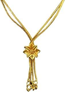 Golden chain with latkan