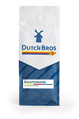 Dutch Bros Coffee Decaf Blend, Whole Bean, Medium Roast, 1lb Bag