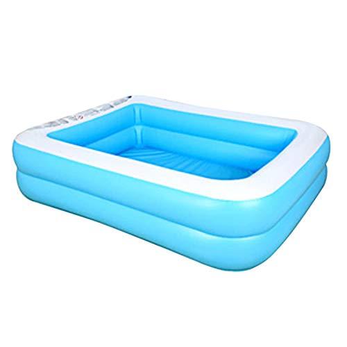 Piscina inflable, piscinas inflables rectangulares de verano para niños, piscina de bolas marinas gruesas resistentes al desgaste, piscina familiar, para interiores y exteriores