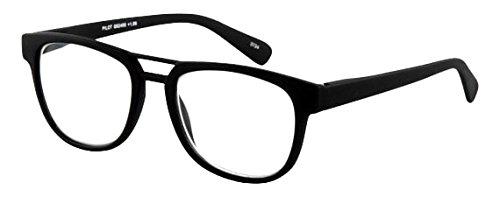 Leesbril Pilot Black Sph