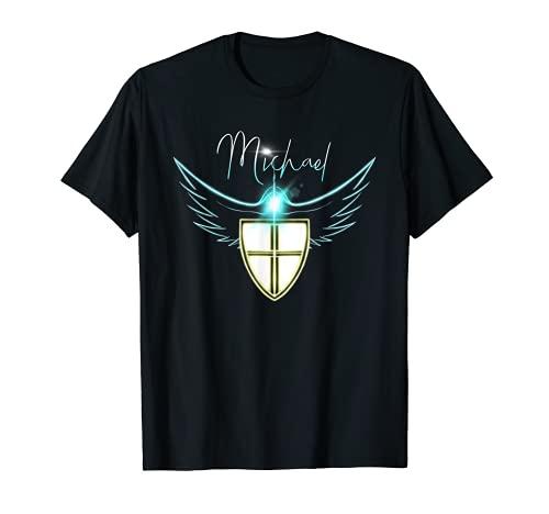 Saint St Michael Catholic Archangel Angel T-Shirt