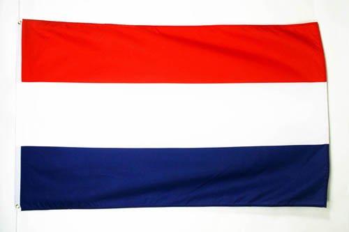 AZ FLAG Flagge NIEDERLANDE 90x60cm - HOLLÄNDISCHE Fahne 60 x 90 cm - flaggen Top Qualität