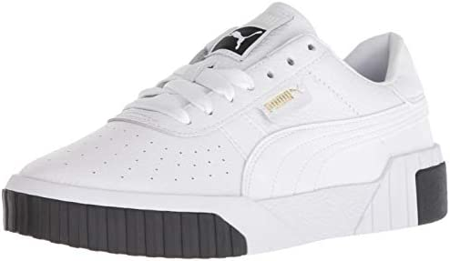 PUMA Women s CALI Sneaker White Black 11 M US product image