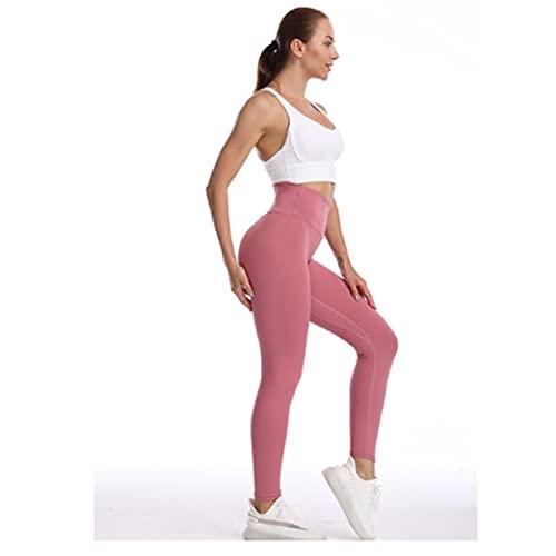 YAANGSI Mujeres Medias Aptitud Correr Pantalones de Yoga Altos Cintura Sin Fisuras Deporte Leggings Push Up Leggins Energy Gym Clothing Girl Leggins (Color : 03, Size : Large)