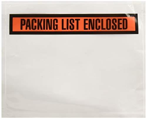 Sales4Less Packing List Envelopes 7.5