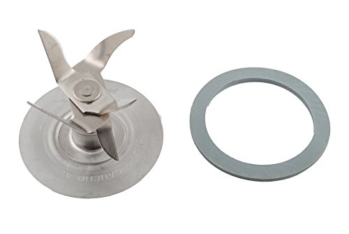 Blender Blade for Oster Replacement Parts- 6 Point Fusion Blade 4980 with Rubber Seal Gasket