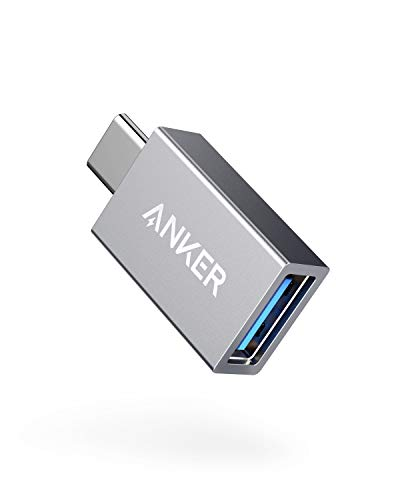 Anker USB-C & USB 3.0 変換アダプタ【最大5Gbpsの転送スピード】 iPad Pro (2018, 11インチ) / MacBook / MacBook Air (2018)、Galaxy S9 / S9+ 他対応 (グレー)