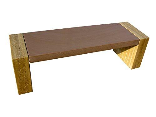 Sitzbank aus NATURSTEIN, BANK für den Garten, Gartendeko aus Stein