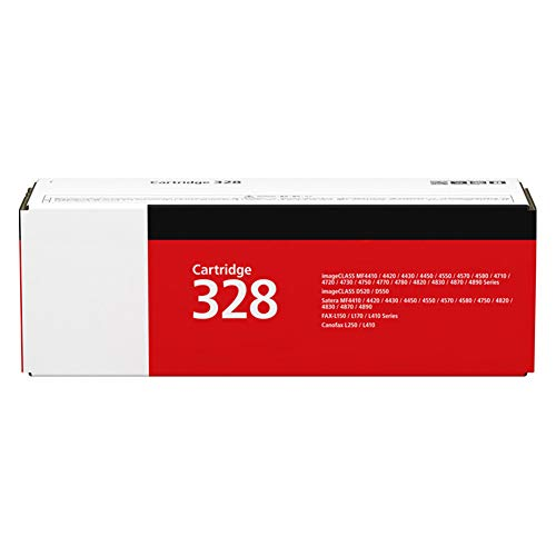 CRG-328 Toner Cartridge, for MF4752 4720w 4752G 4712 4712G 4870dnG 4830dG FAX-L150 140 418SG Printer Toner Cartridge Black Holiday Deals Count Down-1pack