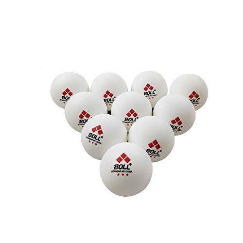 Affordable 8haowenju [30/50/100 Pack Three-Star Table Tennis, Training, Game Ball, New Material ABS4...