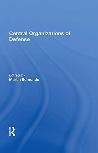 Central Organizations Of Defense